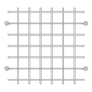 Stainless Steel Wire Guard for 9 in. Flood Fixtures - PLT 27106