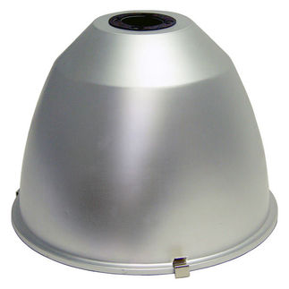 16 in. Hinged Aluminum Reflector for High Bay Fixtures - Matte Finish - PLT 28159