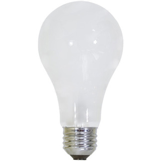 100 Watt - Frosted - A21 Light Bulb - 120 Volt - 5,000 Life Hours - Full Spectrum Natural Light - Bulbrite 711021