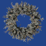 2.5 ft. Wreath - Frosted - Wistler Fir - Clear Lights