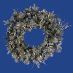 2 ft. Wreath - Frosted - Wistler Fir - Clear Lights