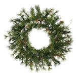 2 ft. Wreath - Green - Mixed Country Pine - Unlit