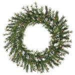 4 ft. Wreath - Green - Mixed Country Pine - Unlit