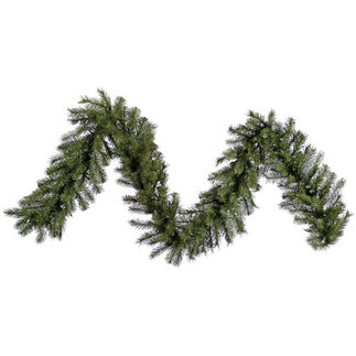 9 ft. Garland - Green - Albany Spruce - Unlit