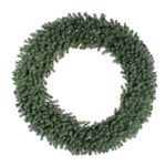 100 in. Wreath - Green - Douglas Fir - Unlit