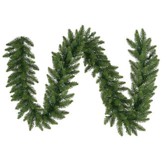 9 ft. Garland - Green - Camdon Fir - Unlit