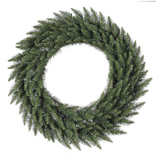 6 ft. Wreath - Green - Camdon Fir - Unlit