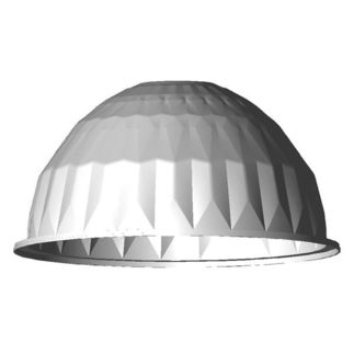 22 in. Faceted Aluminum Reflector for High and Low Bay Fixtures - PLT 28133