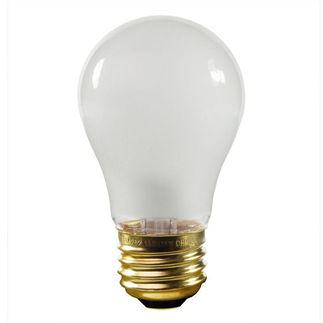 15 Watt - A15 - Frost - Appliance Bulb - 1,500 Life Hours -