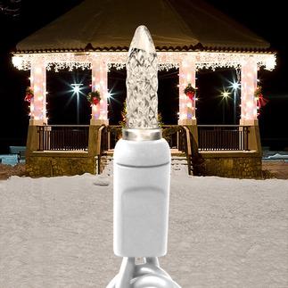 (70) LED Warm White Mini Lights - Icicle String Lights