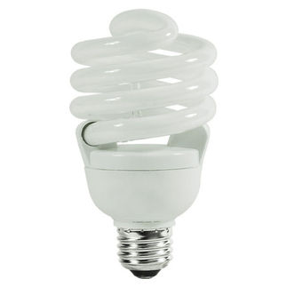 SYLVANIA 29695 - 30 Watt - CFL - 100 W Equal - 3000K Warm White - 82 CRI - 67 Lumens per Watt - 12 Month Warranty