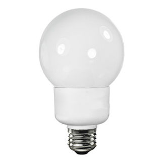 15W - Dimmable - G25 - 3500K - 60W Equal - 24 Mo. Warranty