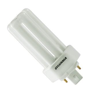 Sylvania 20892 - CF13DT/E/830/ECO - 13 Watt - 4 Pin GX24q-1 Base - 3000K  - CFL Light Bulb