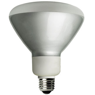 Dimmable - 16 Watt - R40 CFL - 65 W Equal - 3500K Halogen Wh