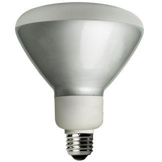 Dimmable - 16 Watt - R40 CFL - 65 W Equal - 3500K Halogen Wh