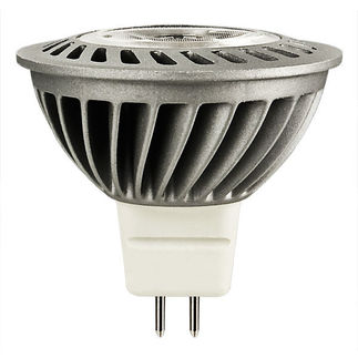 6 Watt - Dimmable LED - MR16 - 4000K Cool White - Narrow Flood - 982 Candlepower - 20 Watt Equal - Lighting Science DFN16NWNFL