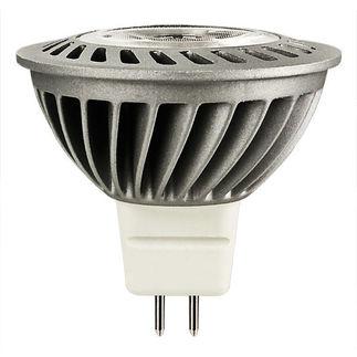 6 Watt - Dimmable LED - MR16 - 5000K Stark White - Narrow Flood - 1516 Candlepower - 20 Watt Equal - Lighting Science DFN16CWNFL