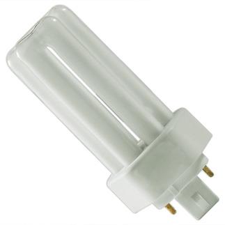 Sylvania 20880 - CF26DT/E/IN/830/ECO - 26 Watt - 4 Pin GX24q-3 Base - 3000K  - CFL Light Bulb