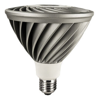 18 Watt - LED - PAR38 - 5000K Stark White - Spot - Dimmalble