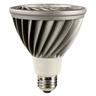 15 Watt - LED - PAR30L - Long Neck - 5000K Stark White - Narrow Flood