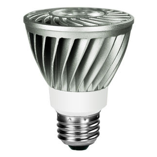 8 Watt - Dimmable LED - PAR20 Hi-Output - 5000K Stark White
