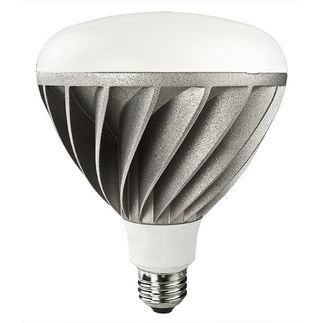 18 Watt - LED - BR40 - 5000K Stark White - 1006 Lumens - Dimmable - Lighting Science DFNBR40CW120