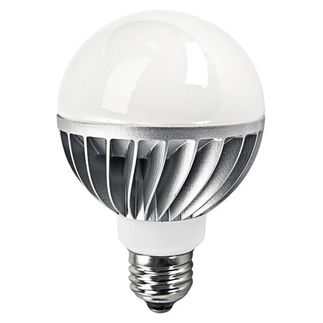 8 Watt - Dimmable LED - G25 - Stark White - 120 Volt