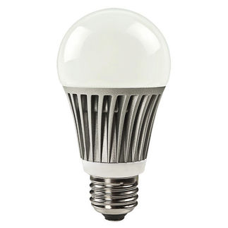 8 Watt - Dimmable LED - A19 - Cool White - 460 Lumens - 35 W