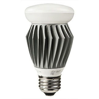 8 Watt - Dimmable - LED Light Bulb - Omni-Directional A19 - 4000K Cool White - 450 Lumens - 40 Watt Equal - 120 Volt - Lighting Science DFN19NWV1120