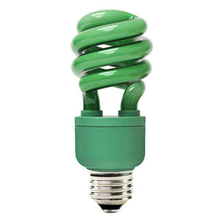 Shop for Green Colored CFL - 13 Watt