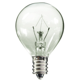 15 Watt - G11 - Clear - 1-3/8 in. Dia. - 120 Volt - 3,000 Life Hours - Decorative Globe - Candelabra Base - Bulbrite 461015