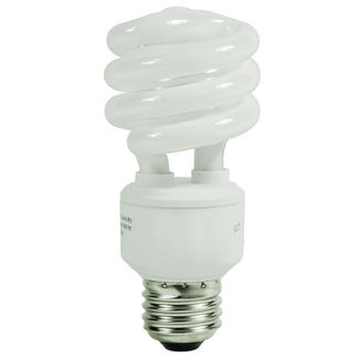 18 Watt - CFL - 75 W Equal - 3500K Halogen White