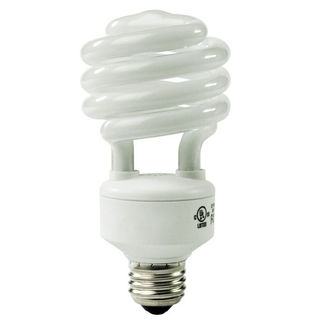 23 Watt - CFL - 100 W Equal - 3500K Halogen White