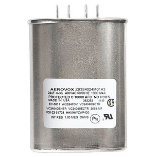 Shop for Aerovox Z93S4024M01A3 | Metal Halide Capacitor