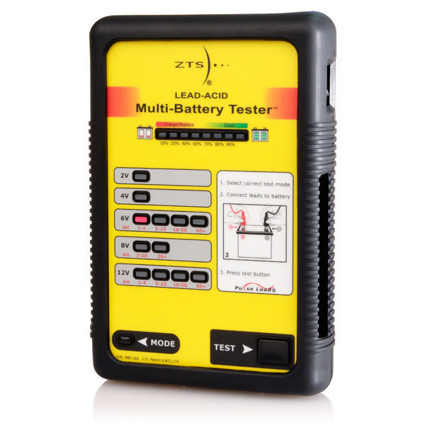 8 Volt Battery Load Tester : Zts mbt la multi battery tester