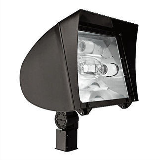 RAB FXLH400SFPSQ - 400 Watt - Pulse Start - Metal Halide - Flood Light Fixture - 120/208/240/277 Volt