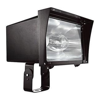 RAB FZH250PSQ - 250 Watt - Pulse Start - Metal Halide - Flood Light Fixture - 120/208/240/277 Volt
