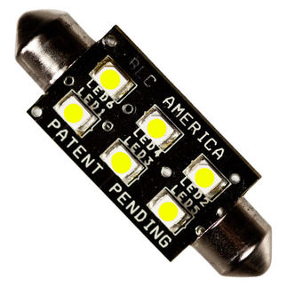 SYM-2450 - 0.58 Watt - T3 Replacement - Festoon Base - LED - 48.7 Lumens - 24 Volt