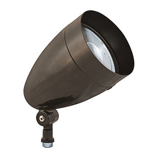 RAB HBLED13A - 13 Watt - LED - Landscape Lighting - Flood Light Fixture - 120/208/240/277 Volt - Bronze Finish