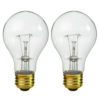 Philips 214734 - 95 Watt - A19 - Clear - 750 Life Hours - 1,600 Lumens - 120/130 Volt - 2 Pack