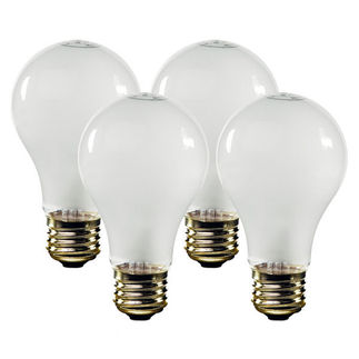 Philips 27082-7 - 60 Watt - A19 - Frost - 1000 Life Hours - 840 Lumens - 120 Volt - 4 Pack