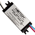 20 Watt - 120 Volt - Electronic Metal Halide Ballast - ANSI M156 - Side Leads With Mounting Feet