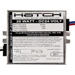 20 Watt - 24V DC Input - Electronic Metal Halide Ballast - ANSI M156 - Side Leads With Mounting Feet