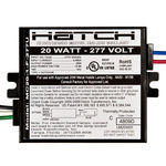20 Watt - 277 Volt - Electronic Metal Halide Ballast - ANSI M156 - Side Leads With Mounting Feet