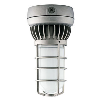 RAB VXLED13DG - 13 Watt - LED - Vaporproof Ceiling Light Fixture - 120/208/240/277 Volt