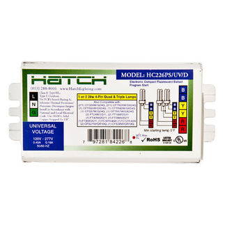 Shop for Hatch HC226/PS/UV/K CFL Ballast