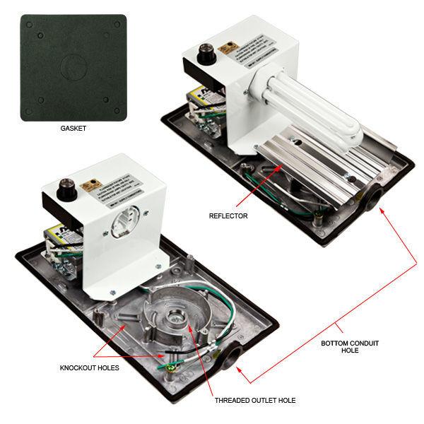 Plt Tl101-cf-42-120  277 - 42 Watt - Cfl
