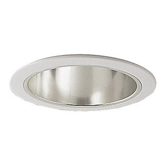 6 in. - Chrome Cone Reflector Trim - Premium Quality Brand PTA97 - Light Fixture Accessory