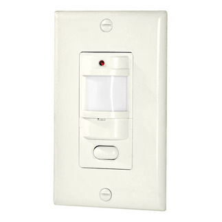 RAB LOS800W/120 - White - Single Pole - Occupancy Sensor - Auto Off/Auto On - For Incandescent and Fluorescent Lights