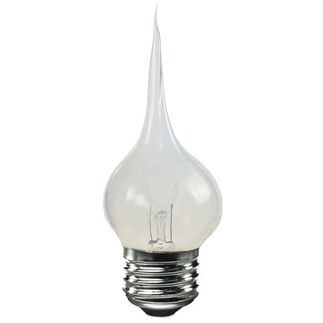 Bulbrite 411007 - Silicone Flicker Bulb